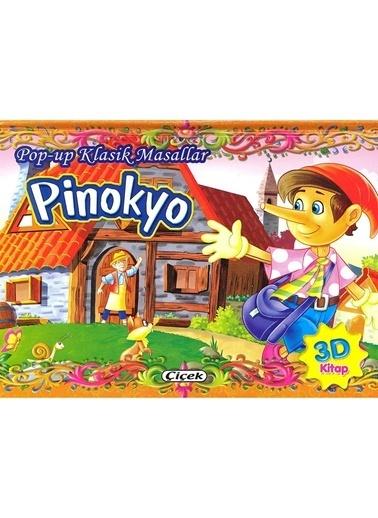 Çiçek Yayıncılık Pop Up Klasik Masallar-Pinokyo Renkli